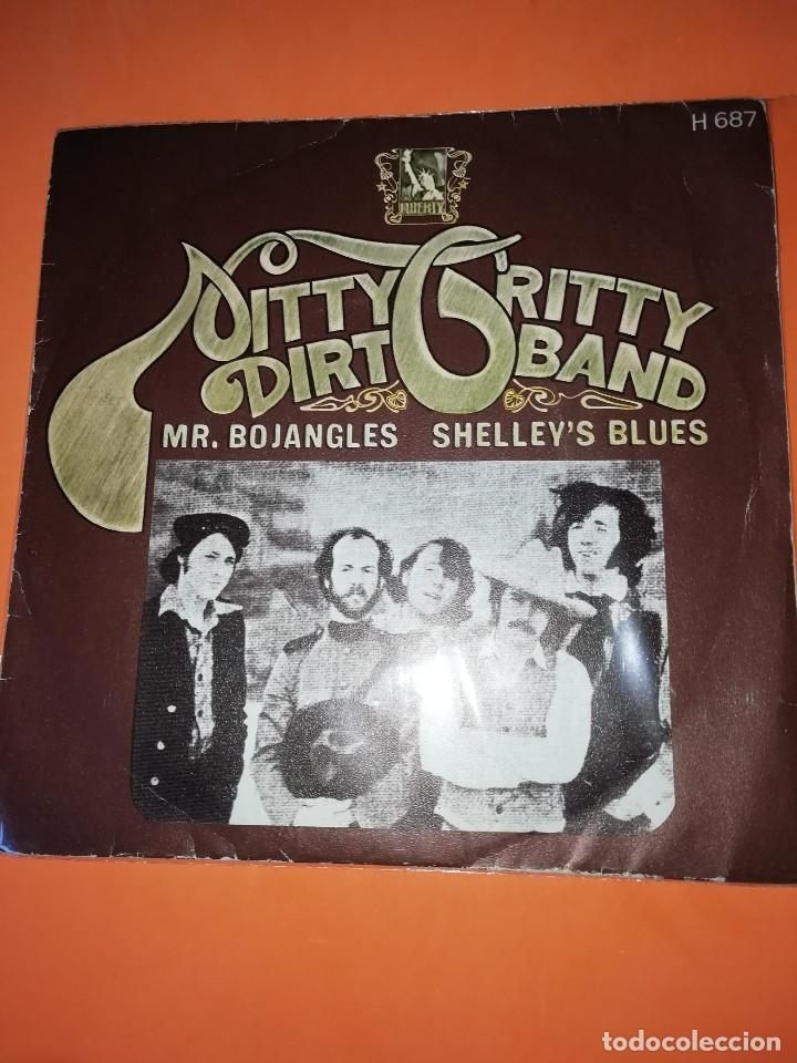 NITTY GRITTY DIRT BAND-MR.BOJANGLES/SHELLEY'S BLUES-HISPABOX 1971 (Música - Discos - Singles Vinilo - Pop - Rock - Extranjero de los 70)