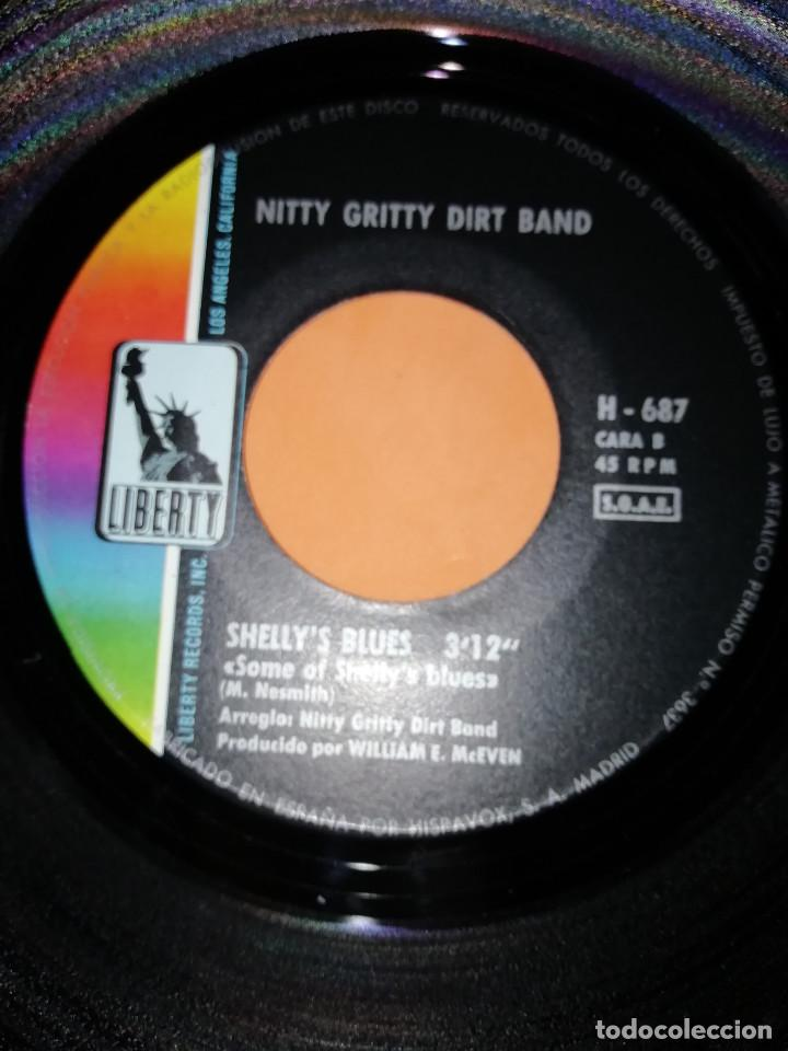 Discos de vinilo: NITTY GRITTY DIRT BAND-MR.BOJANGLES/SHELLEY'S BLUES-Hispabox 1971 - Foto 6 - 165224450