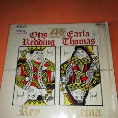 Discos de vinilo: OTIS REDDING Y CARLA THOMAS - REY Y REINA - EP ESPAÑOL RARO DE VINILO 1967.. Lote 165225102