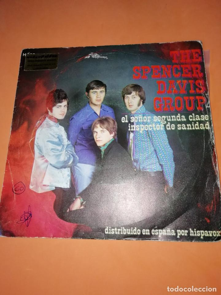 THE SPENCER DAVIS GROUP-EL SEÑOR SEGUNDA CLASE / INSPECTOR DE SANIDAD -EDICION ESPAÑOLA - UA 1968 (Música - Discos - Singles Vinilo - Pop - Rock Extranjero de los 50 y 60)