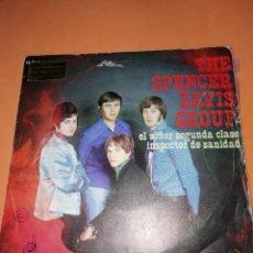 Discos de vinilo: THE SPENCER DAVIS GROUP-EL SEÑOR SEGUNDA CLASE / INSPECTOR DE SANIDAD -EDICION ESPAÑOLA - UA 1968. Lote 165225706