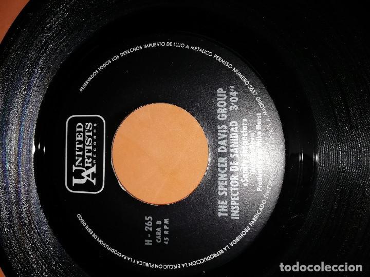 Discos de vinilo: THE SPENCER DAVIS GROUP-EL SEÑOR SEGUNDA CLASE / INSPECTOR DE SANIDAD -EDICION ESPAÑOLA - UA 1968 - Foto 6 - 165225706