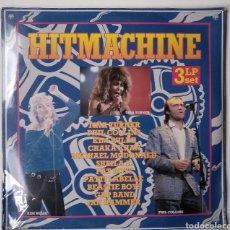 Discos de vinilo: TRIPLE LP ...HITMACHINE ,..VARIOS ARETISTAS. Lote 165226422