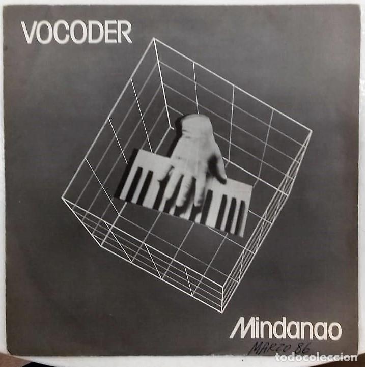 VOCODER - MINDANAO / AMOR DE ROBOT SG PROMO ED. ESPAÑOLA 1985 (Música - Discos - Singles Vinilo - Electrónica, Avantgarde y Experimental)