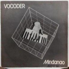 Discos de vinilo: VOCODER - MINDANAO / AMOR DE ROBOT SG PROMO ED. ESPAÑOLA 1985. Lote 165228406