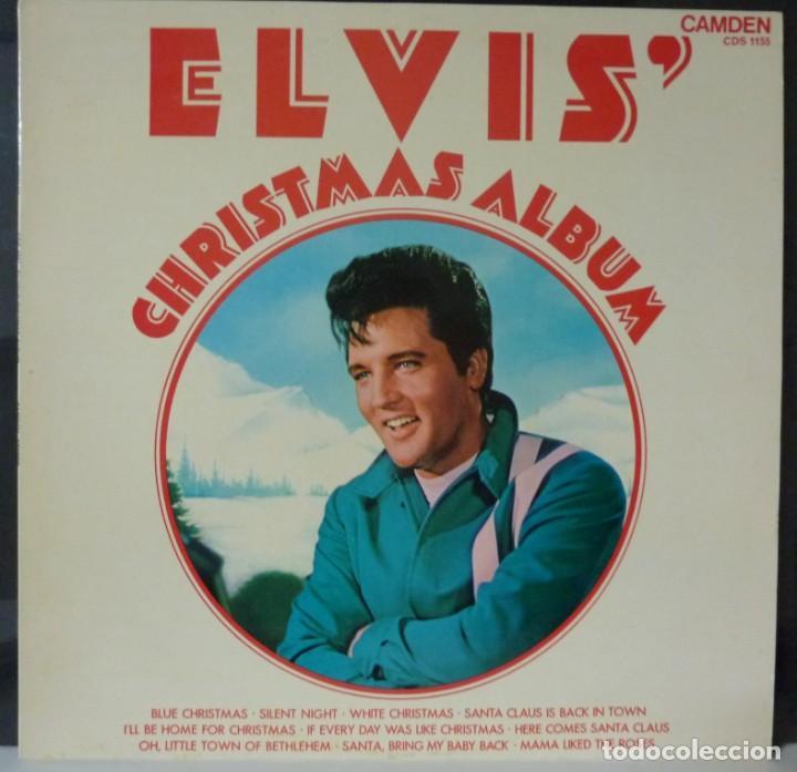 ELVIS PRESLEY // CHRISTMAS ALBUM //MADE IN ENGLAND (Música - Discos - LP Vinilo - Pop - Rock - Extranjero de los 70)