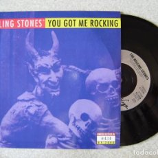 Discos de vinilo: ROLLING STONES.YOU GOT ME ROCKING-JUMP ON TOP OF ME...EDICION LIMITADA PROMO. Lote 165229046