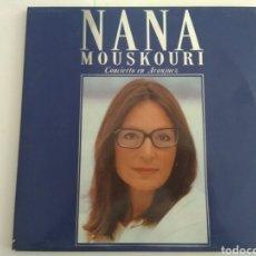 Discos de vinilo: LP DOBLE NANA MOUSKOURI/CONCIERTO EN ARANJUEZ. Lote 165230318