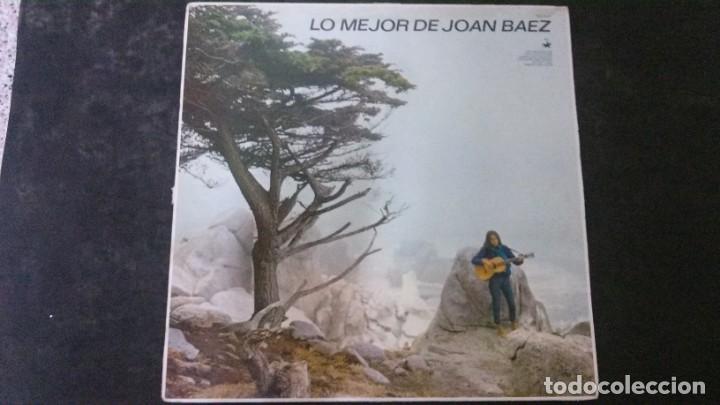 LP-LO MEJOR DE JOAN BAEZ-HISPAVOX (Música - Discos de Vinilo - EPs - Country y Folk)