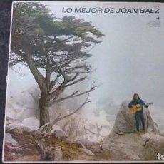 Discos de vinilo: LP-LO MEJOR DE JOAN BAEZ-HISPAVOX. Lote 165233138