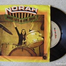Discos de vinilo: NORAH.NOBODY GOTTA BE HOME TONIGHT-LET´S DOIT AGAIN...MUY RARO. Lote 165235090