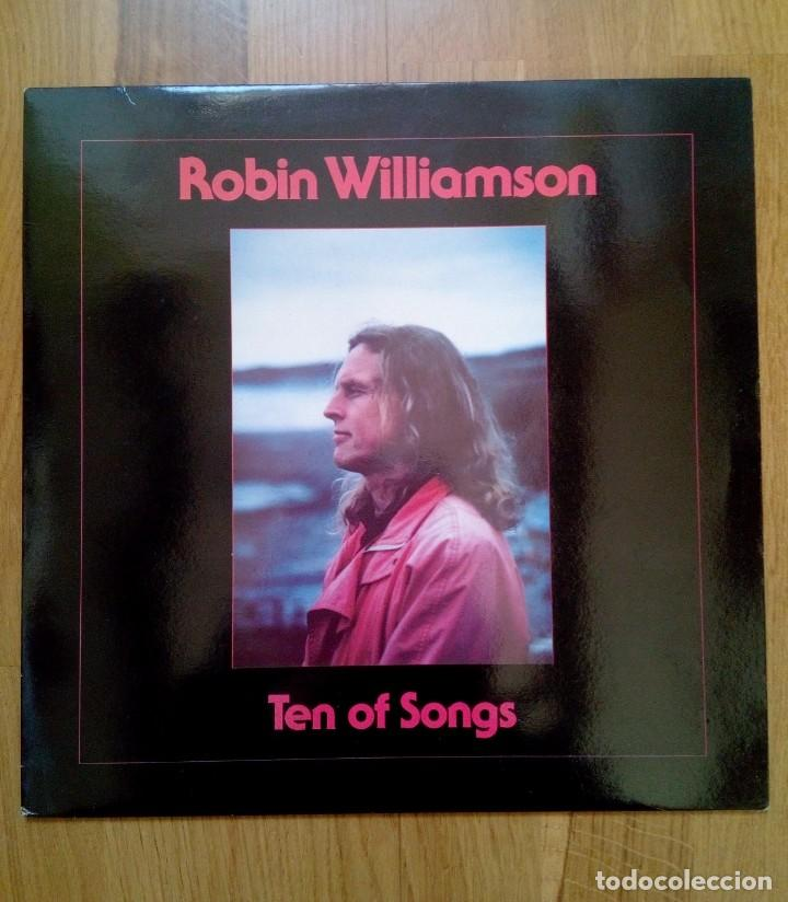ROBIN WILLIAMSON, TEN OF SONGS, PLANT LIFE RECORDS, 1988. (Música - Discos - LP Vinilo - Cantautores Extranjeros)