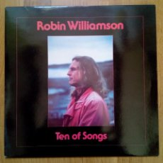 Discos de vinilo: ROBIN WILLIAMSON, TEN OF SONGS, PLANT LIFE RECORDS, 1988. . Lote 165236542
