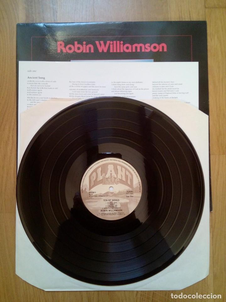 Discos de vinilo: Robin Williamson, Ten of songs, Plant Life Records, 1988. - Foto 2 - 165236542