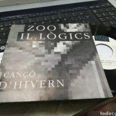 Discos de vinilo: ZOO IL. LOGICS SINGLE CANCO D'HIVERN 1992. Lote 165245228