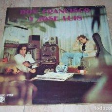 Discos de vinilo: DON FRANCISCO Y JOSE LUIS - S/T-1975-BEAT PSYCH SPANISH-ORIGINAL CARPETA ABIERTA-IMPECABLE-. Lote 165247402