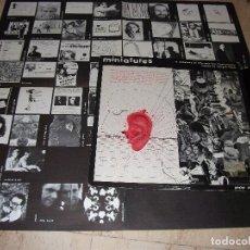 Discos de vinilo: MINIATURES. EDIGSA-PIPE, ESP. 1981 LP + POSTER (RESIDENTS + ROBERT FRIPP +ROBERT WYATT). Lote 165249346