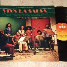 Discos de vinilo: LA BANDA SALSA*VIVA LA SALSA*LP CBS 1976*KILLER LATIN FUNK SOUL*MARQUEZ*IN. BEMBA COLORA*. Lote 165251626