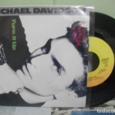 Discos de vinilo: BSO - WHO'S THAT GIRL TURN IT UP (MICHAEL DAVIDSON) SINGLE USA 1987 PDELUXE. Lote 165253910