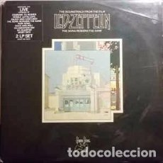 Discos de vinilo: LED ZEPPELIN - THE SOUNDTRACK FROM THE FILM THE SONG REMAINS THE SAME (2XLP, ALBUM, GAT) LABEL:SW. Lote 165256682