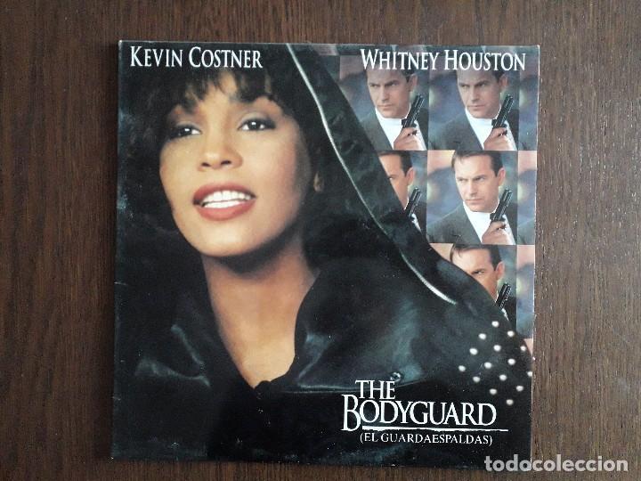 DISCO VINILO LP, WHITNEY HOUSTON, EL GUARDAESPALDAS. ARISTA AÑO 1992 (Música - Discos - LP Vinilo - Bandas Sonoras y Música de Actores )