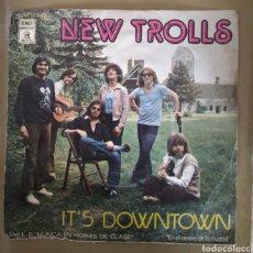 Disques de vinyle: NEW TROLLS - IT'S DOWNTOWN. Lote 165262064