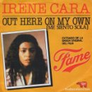 Discos de vinilo: IRENE CARA- OUT HERE ON MY OWN (MEE CARA- OUT HERE ON MY OWN (ME SIENTO SOLA) -SINGLE SPAIN 1981 . Lote 165268894