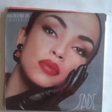 Discos de vinilo: SADE HANG ON TO YOUR LOVE . Lote 165272934