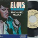 Discos de vinilo: ELVIS PRESLEY 7 SINGLE UNCHAINED MELODY USA RCA PB 11212 1978 RARE PROMO COPY . Lote 165274702