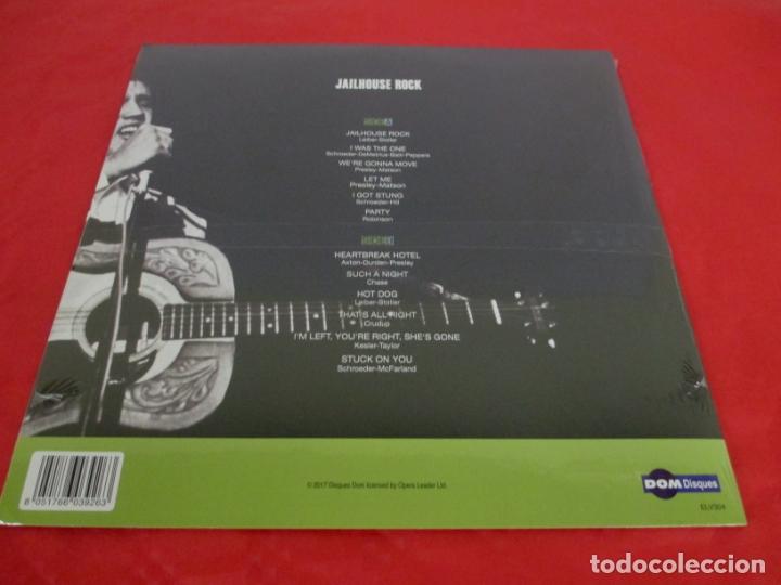Discos de vinilo: ELVIS PRESLEY - JAILHOUSE ROCK - LP - DOM 2017 ELV304 - NUEVO PRECINTADO - Foto 2 - 165301054