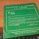 Discos de vinilo: RARA EDICION DE TATA RAMOS PARA ARANS, DISCO DONATIVO SORDOMUDOS, 1972. Lote 165305894