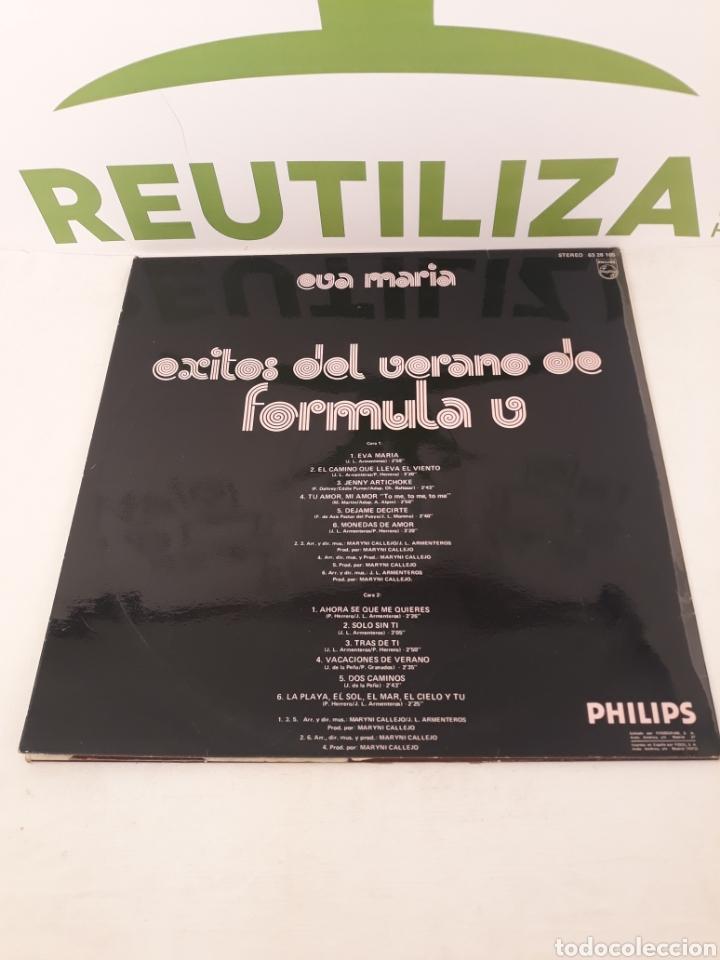Discos de vinilo: Eva maria.Exitos del verano.Formula v.LP. - Foto 2 - 165320090