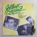 Discos de vinilo: GILBERT BÉCAUD - EN ESPAÑOL - LP VINILO - EMI - 1970. Lote 165327766