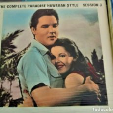 Discos de vinilo: ELVIS PRESLEY THE COMPLETE PARADISE HAWAIIAN STYLE SESSIONS SESSION VOL.3 - TCB-RECORDS 963-1. Lote 165328102