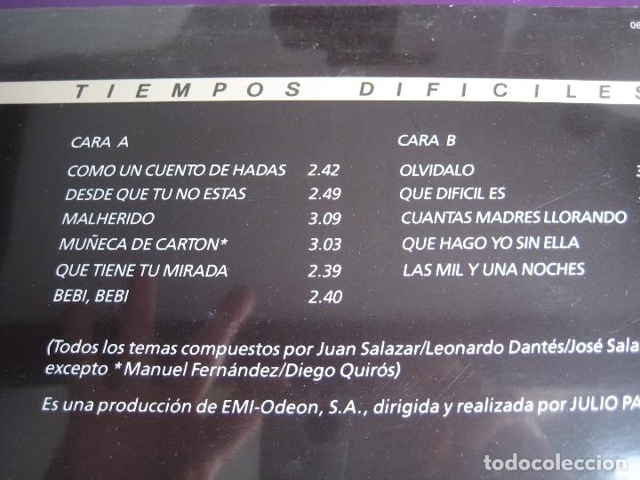 Discos de vinilo: LOS CHUNGUITOS LP EMI 1989 PRECINTADO - TIEMPOS DIFICILES - RUMBAS POP RUMBA GITANA - Foto 3 - 165333742