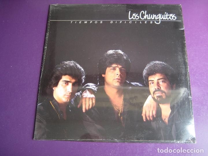 LOS CHUNGUITOS LP EMI 1989 PRECINTADO - TIEMPOS DIFICILES - RUMBAS POP RUMBA GITANA (Música - Discos - LP Vinilo - Flamenco, Canción española y Cuplé)