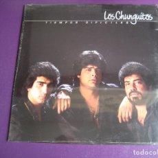 Discos de vinilo: LOS CHUNGUITOS LP EMI 1989 PRECINTADO - TIEMPOS DIFICILES - RUMBAS POP RUMBA GITANA. Lote 165333742