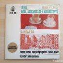 Discos de vinilo: CHUECA Y VALVERDE - AGUA, AZUCARILLOS Y AGUARDIENTE - LA GRAN VÍA - LP VINILO - HIPAVOX - 1963. Lote 165335042