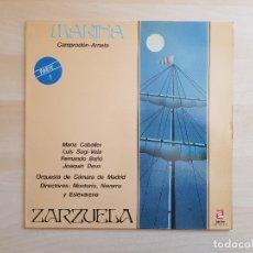 Discos de vinilo: MARINA - PARTE 1 - CAMPRODÓN - ARRIETA - LP VINILO - SERDISCO - 1984. Lote 165337502