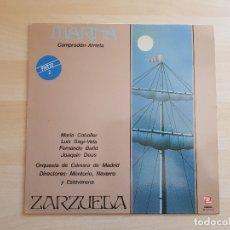 Discos de vinilo: MARINA - PARTE 2 - CAMPRODÓN - ARRIETA - LP VINILO - SERDISCO - 1984. Lote 165337558