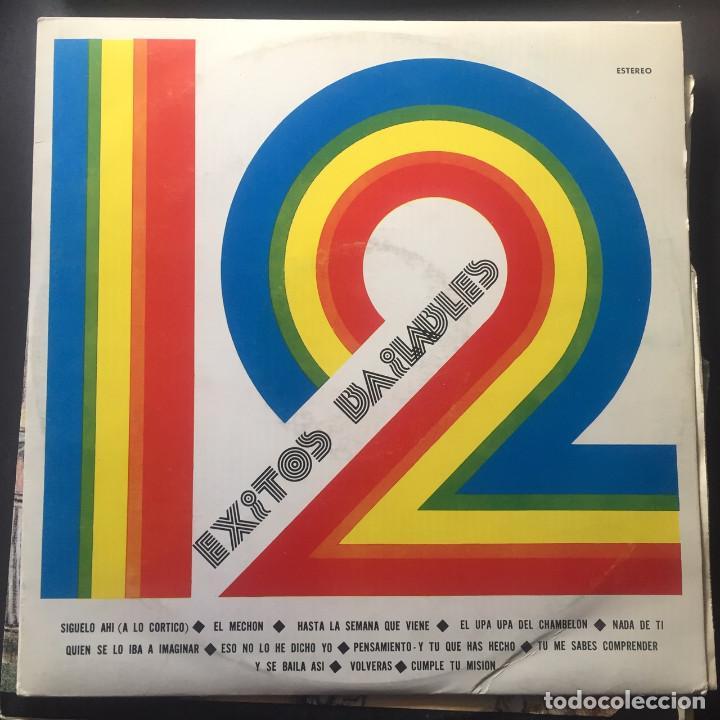 12 ÉXITOS BAILABLES (Música - Discos de Vinilo - EPs - Grupos y Solistas de latinoamérica)