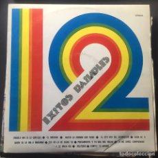 Discos de vinilo: 12 ÉXITOS BAILABLES. Lote 165338650