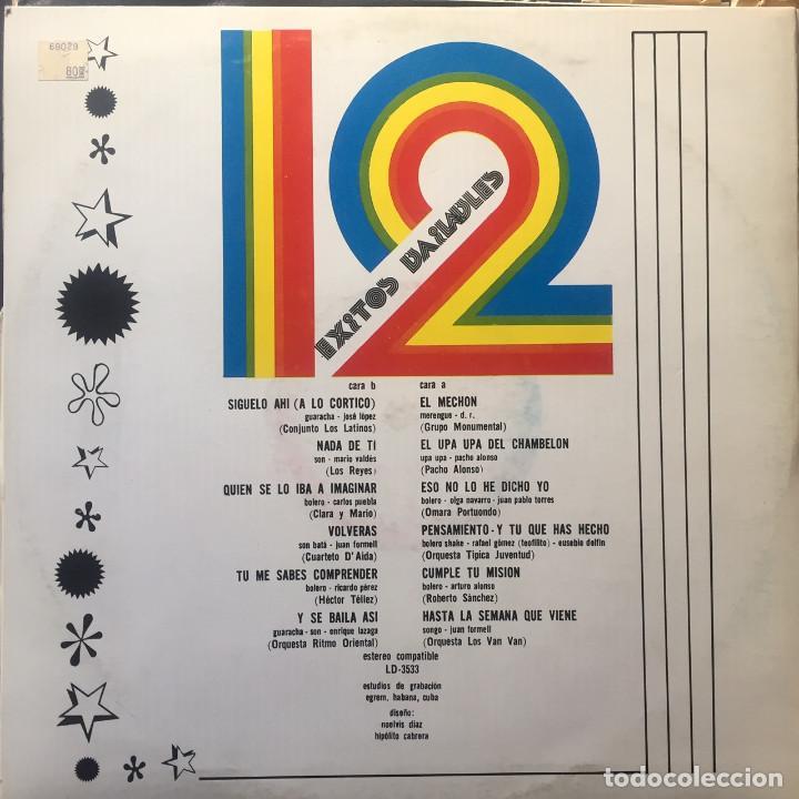 Discos de vinilo: 12 éxitos bailables - Foto 2 - 165338650