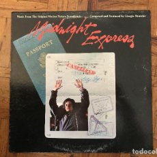 Discos de vinilo: GIORGIO MORODER ?– MIDNIGHT EXPRESS (MUSIC FROM THE ORIGINAL MOTION PICTURE SOUNDTRACK) . Lote 165342522