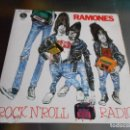 Discos de vinilo: RAMONES - ROCK N´ROLL RADIO -, SG, DO YOU REMEMBER ROCK´ N´ ROLL RADIO? + 1, AÑO 1980. Lote 165353874