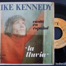 Discos de vinilo: MIKE KENNEDY - LA LLUVIA + GOLDEN MEMORIES - SINGLE 1969 - BARCLAY * PEDIDO MIN. 5€ *. Lote 165357874