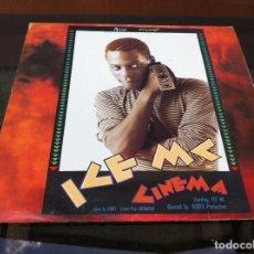 Vinyl-Schallplatten - MAXI SINGLE. ICE Mc. CINEMA. 1990, SPAIN - 165358646