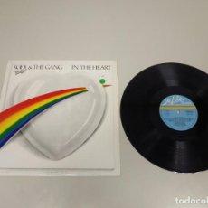 Disques de vinyle: 519- KOOL & THE GANG IN THE HEART VINILO LP ESP 1983 PORT VG + DISCO VG +. Lote 165359130
