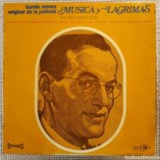 Discos de vinilo: B.S.O. MUSICA Y LAGRIMAS ( THE GLENN MILLER STORY ). Lote 165359357