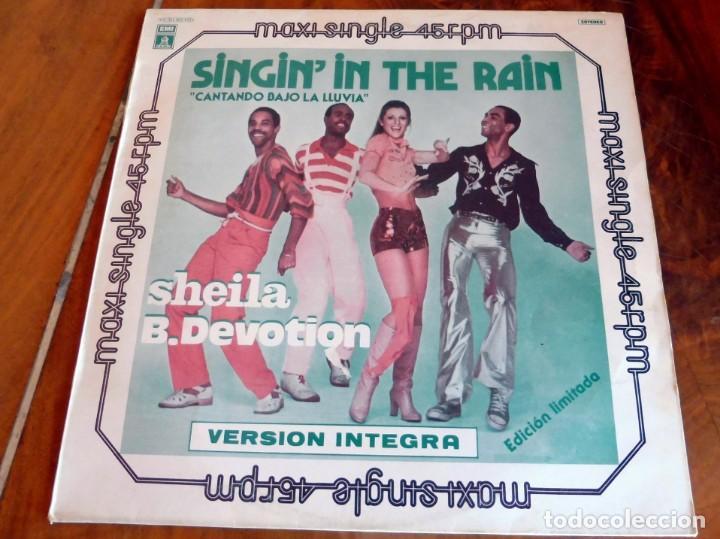 MAXI SINGLE - SHEILA B. DEVOTION - SINGIN'IN THE RAIN (Música - Discos de Vinilo - Maxi Singles - Otros estilos)